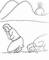 bible story coloring gideon picks men free bible