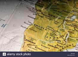 Map Of Countries In Africa by Map Of Angola Congo Namibia And Various Countries In Africa Stock