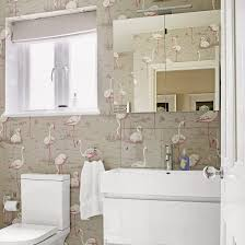 bathroom with wallpaper ideas modern black and white bathroom wallpaper staggering ideas design