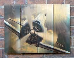 airplane home decor wall art design ideas propeller indoor aircraft wall art house