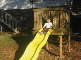 Diy Backyard Playground Ideas Build A Playground Slide Extreme How To