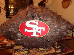 football pinata san francisco 49ers party time my creations