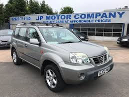 cheap nissan cars 2002 nissan x trail new mot silver cheap 4 four wheel drive