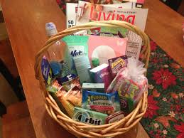 hospital gift basket new nursing gift basket magazines snacks gum mints