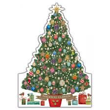 christmas tree christmas cards british red cross gift shop