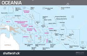 Micronesia Map Map Oceania Stock Vector 33329860 Shutterstock