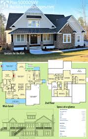 4 Bedroom Craftsman House Plans by Plan 500005vv Upstairs For The Kids Architectural Design House