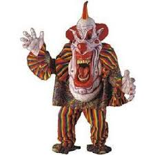 Scary Clown Halloween Costume Evil Scary Clowns Scary Clown Costumes Masks Props Night