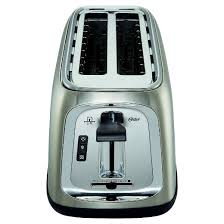 Calphalon 4 Slot Stainless Steel Toaster Oster 4 Slice Long Slot Toaster Stainless Steel Tssttrjb30r