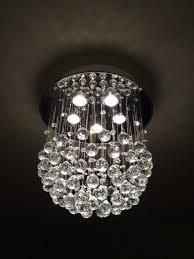 Silver Chandelier by Modern Crystal Silver Chandelier U003e 149 00 Rain Drop Five Lights
