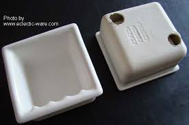 recessed ceramic soap dishes tp holders eclectic ware