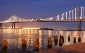 Bay Bridge Lights Photos 25 000 Lights Turn The San Francisco Bay Bridge Into A