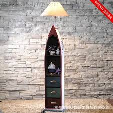 Funky Floor Lamps Funky Unique Wooden Boat Rustic Costal Floor Lamps Kids Lamp Com