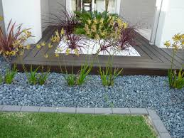 pebble garden designs an english garden is cozy with a gravel road