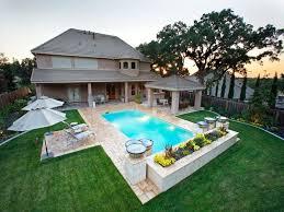 ingroundpool landscape designs ideas u2014 home landscapings