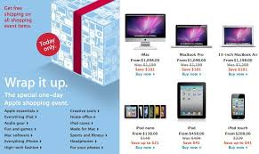 apple black friday sales 2010 see the one day only deals huffpost