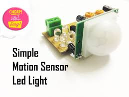 make an simple motion sensor light pir 13 steps with pictures