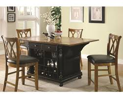 kitchen island table sets coaster two tone kitchen island set kitchen carts co 102270 71set