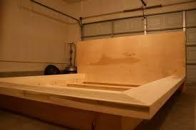 build a platform bed bed frame diy queen platform bed frame with