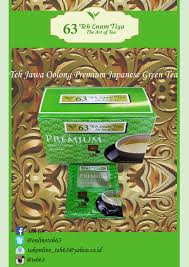 Teh Jawa sell teh oolong premium japanese green tea from indonesia by pt