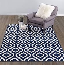 amazon com new fashion luxury morrocan trellis rugs blue and