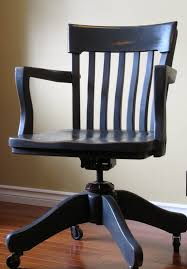 fantastic 1940s banker u0027s chair weathered oak drifted home