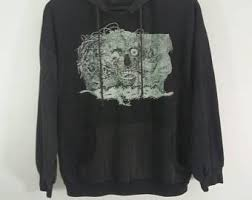 metal band sweaters carcass etsy
