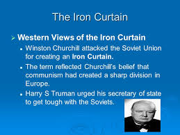 Winston Churchill And The Iron Curtain The Cold War Ppt Download