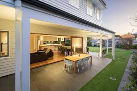 Design Your Own Queenslander Home Classic Queenslander Renovated Into A Sleek Family Home