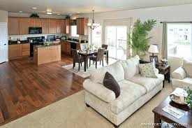 open floor plan kitchen and family room best flooring for kitchen and family room flooring ideas for family