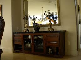 Dining Room Credenza Furniture Dark Red Credenza Furniture Storage With Many Drawers