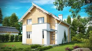 Modern Style House Z137 An Energy Efficient House Design With A Subtle Elevation