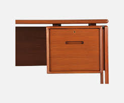 Danish Modern Teak Desk by Danish Modern Executive Teak Desk By Dyrlund Danish Modern L A
