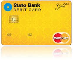 debit card sbi gold international sbi corporate website
