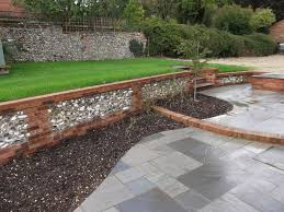 12 best flint walls images on pinterest garden walls brick