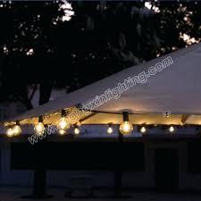 Patio Umbrella String Lights Solar Umbrella String Lights Idea Patio Umbrellas Of Led Finally