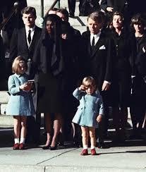 john f kennedy jr salutes his father u0027s casket in washington 1963