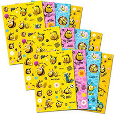 bumblebee party supplies the hive bumble bee stickers party favors pack
