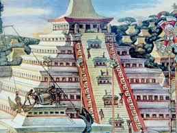 Tenochtitlan Map Aztec Architecture