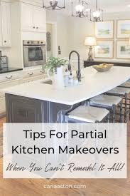 kitchen makeovers with cabinets tips for partial kitchen makeovers when you can t remodel