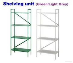 ikea draget ikea draget shelving bookcase storage unit 60x140 cm in green light