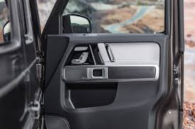 mercedes pickup truck 6x6 interior first look inside the 2018 mercedes g wagen by car magazine