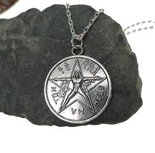 man necklace store images Tetragrammaton necklace tetragrammaton with vitruvian man jpg