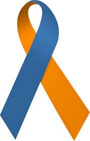 navy blue ribbon file orange and navy blue ribbon jpg wikimedia commons
