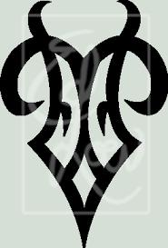 zodiac designs with image zodiac symbol picture tribal