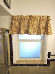 how you can make classy and romantic bathroom window curtains