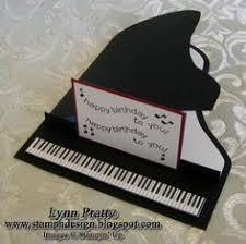 music themed birthday cards christmas decore