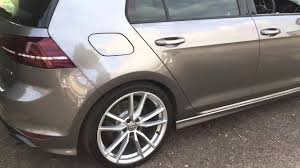 2015 Golf R Colors Vw Golf 7 R 2015 With Milltek Cat Back Non Res Black Cerako Youtube