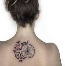 40 beautifully designed tattoos for women antique bicycles