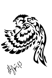 tribal owl tattoo desing by greeneco94 on deviantart